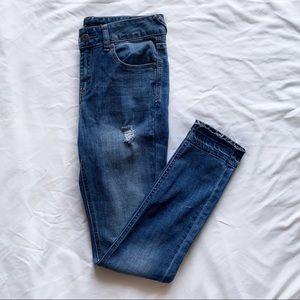 Francesca's Harper Mid Rise Skinny Jeans